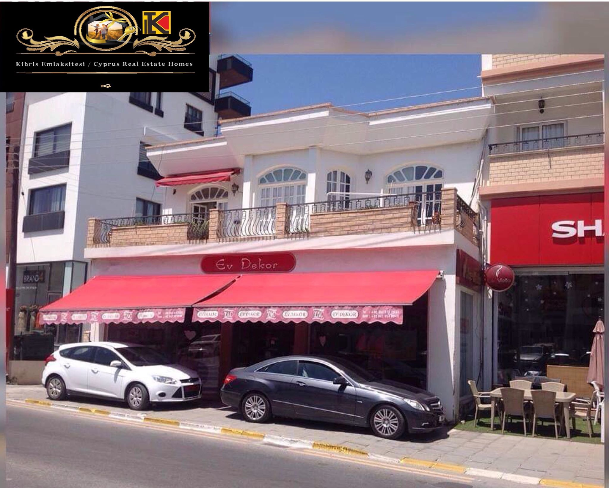 Shop For Rent With Great Location Girne City Center Good Bossiness opportunity