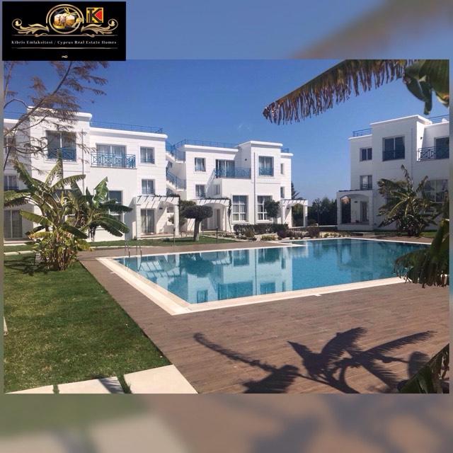 Nice 2 Bedroom Apartment For Rent Location Opposite Escape Beach Alsancak Girne.