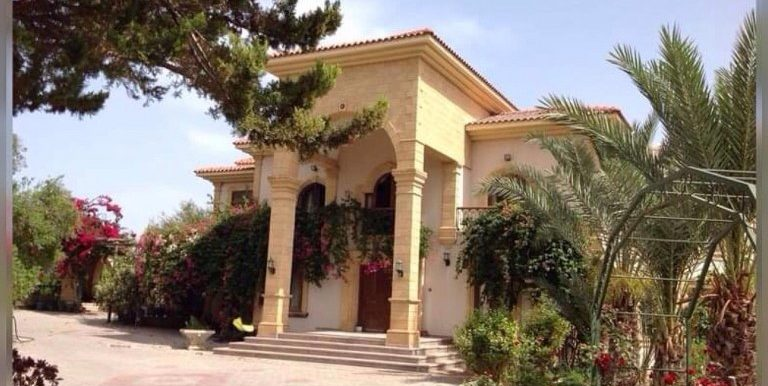 5 Bedroom and 2 Livingroom Villa For Sale With Big Piece Of Land Location on the main high way road Edremit Alsancak Girne North Cyprus KKTC TRNC