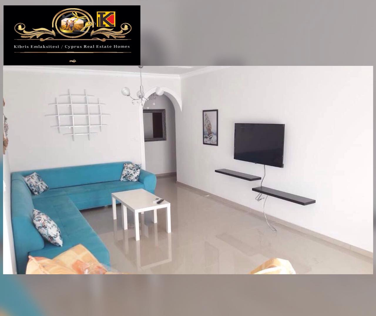 3 Bedroom Luxury Apartment For Rent Location Entrance Doğanköy Girne