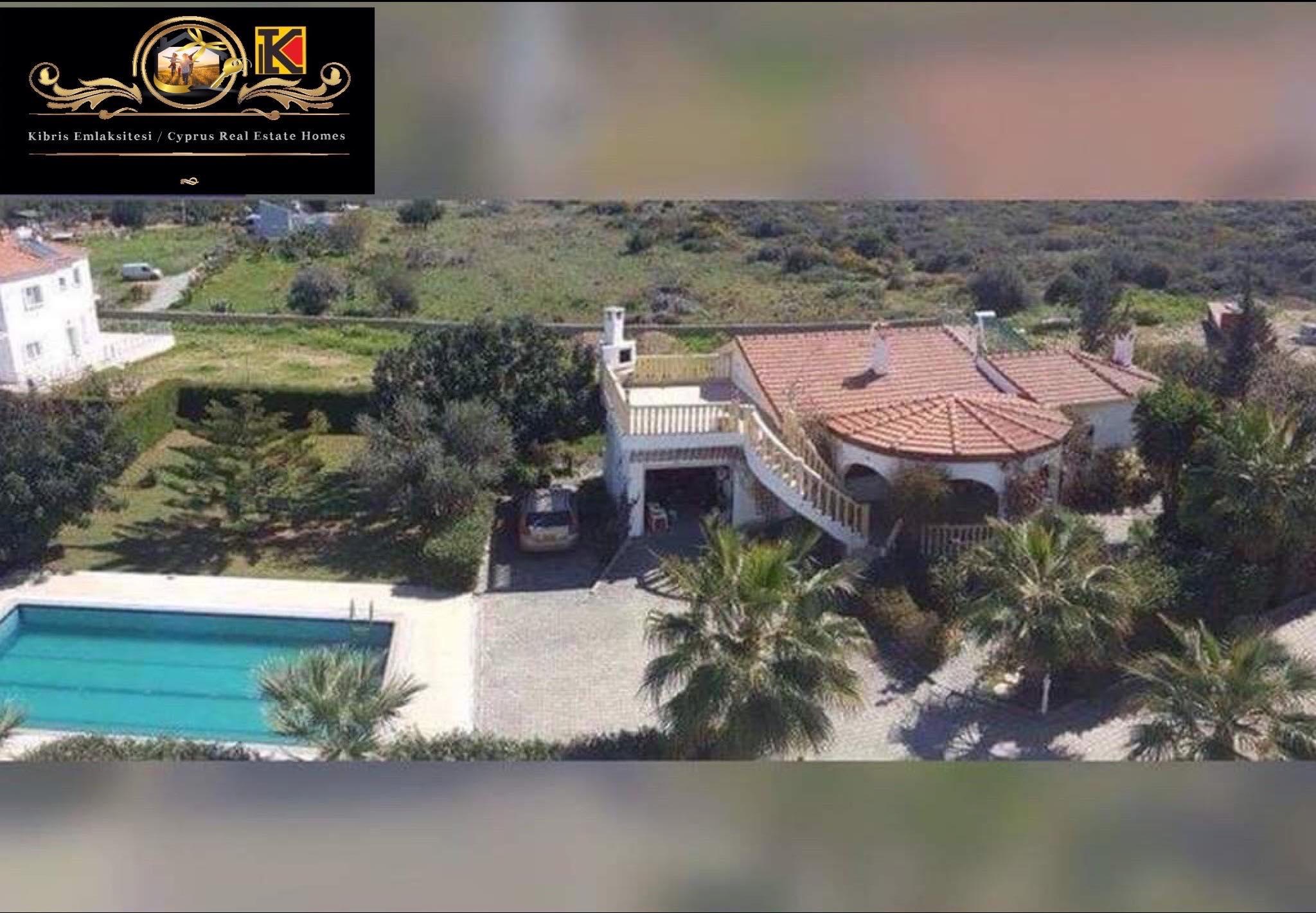 3 Bedrooms Lovely Villa For Rent Location Near Escape Beach Alsancak Girne(Private Swimming Pool)