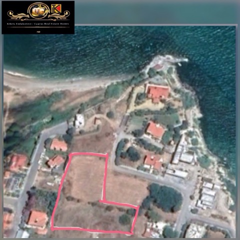 Great Business Opportunities in North Cyprus Sea Front Land For Sale Location Near by Ileli Market Merit Royal Hotel Alsancak Girne.