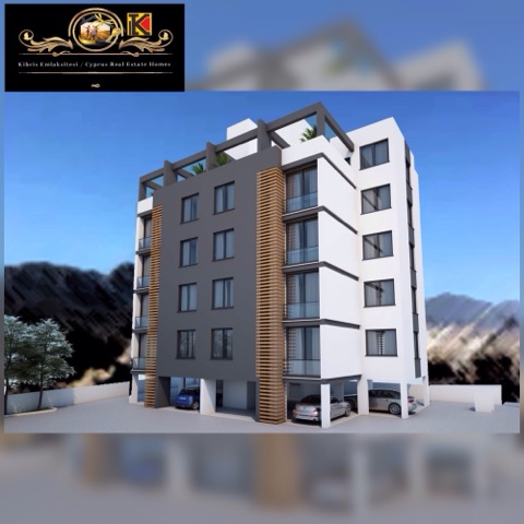Nice 1 And 2 Bedroom Apartment For Sale Location Near Kamiloglu Hospital Girne.(Turkish Title Deeds)