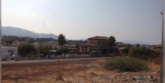 716m2 Corner Plot For Sale Location Near By Sea Karsiyaka Girne (Urgent Sale Price Reduced )