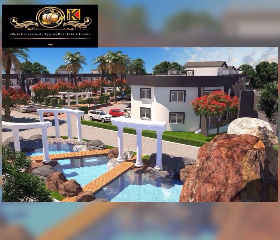 Adorable 1 Bedroom Apartment For Sale Location Near GAU Unversity Edremit Girne