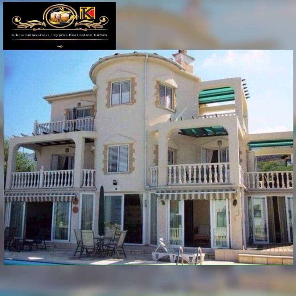 6 Bedroom villa with breathtaking/panoramic views Location Catalkoy Girne