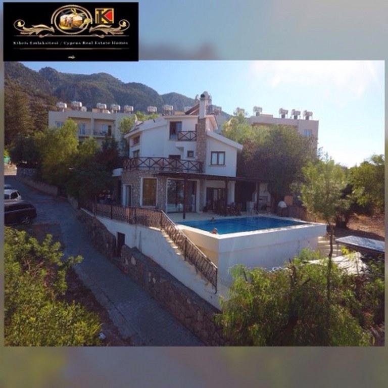3 Bedroom Villa beautiful sea and mountains panoramic views Location Lapta-Başpınar Girne
