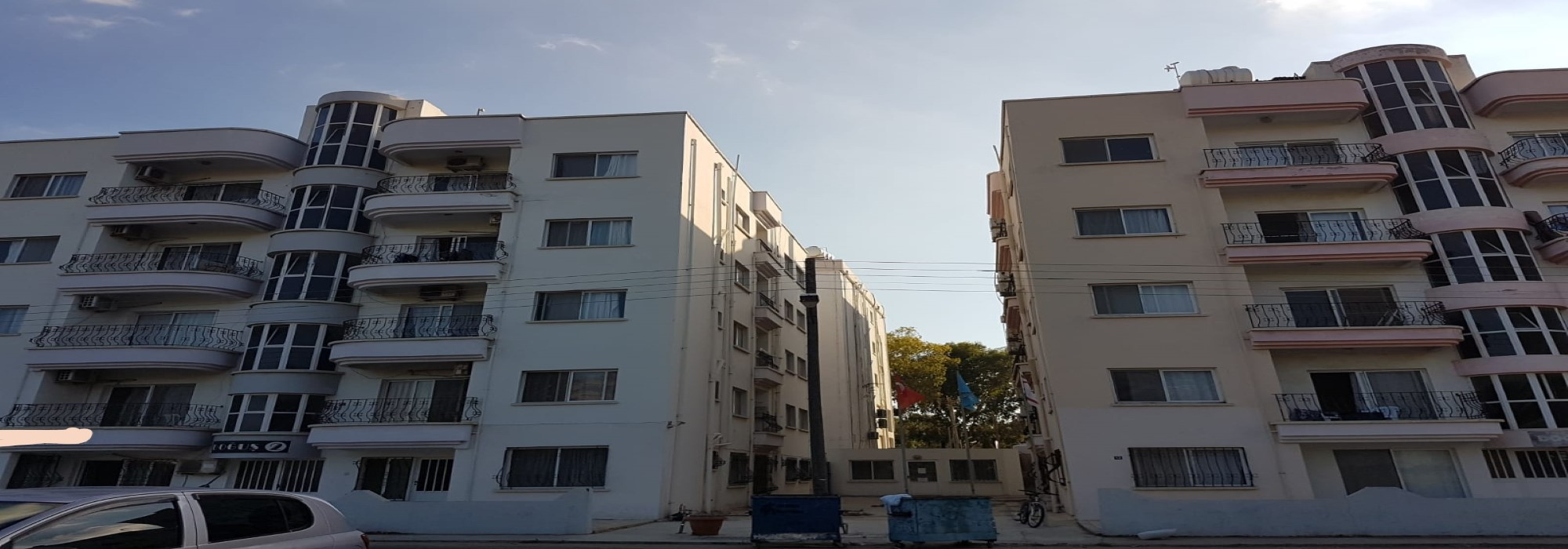 Two Entire Apartment Blocks For Sale Location Near Emu University Magusa (Turkish Title Deeds)