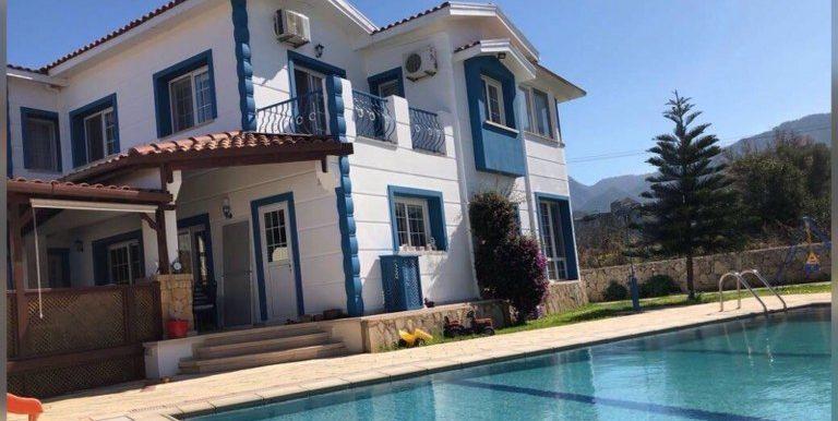 Nice 5 Bedroom Villa For Sale Location Near Alsancak Municipality Girne North Cyprus (KKTC)