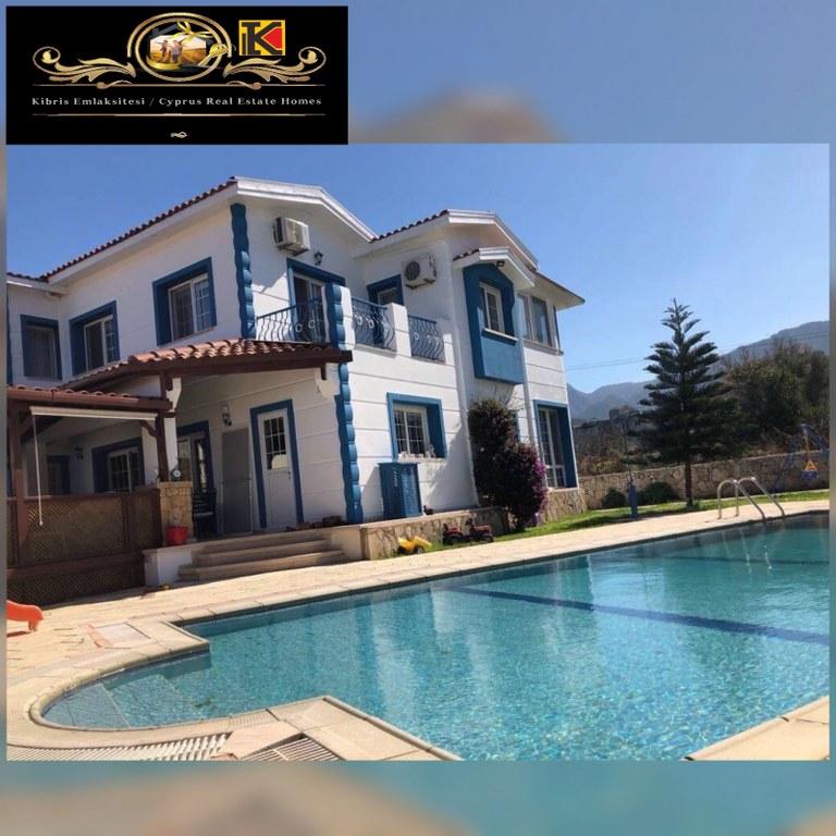 Nice 5 Bedroom Villa For Sale Location Near Alsancak Municipality Girne