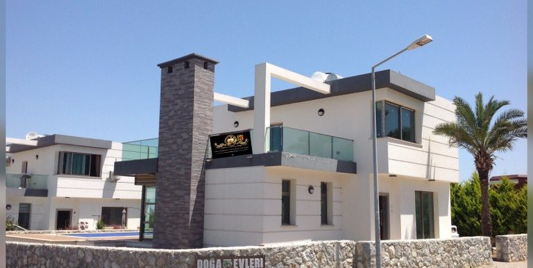 Nice and Brand New 3 Bedroom Villa For Sale Location Edremit Girne North Cyprus (KKTC)