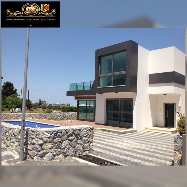 Nice and Brand New 3 Bedroom Villa For Sale Location Edremit Girne