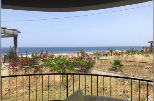 Sea Front 3 Bedroom Apartment For Rent Location Lapta Yuruyus Yolu Girne (Communal Swimming Pool) North Cyprus (KKTC)