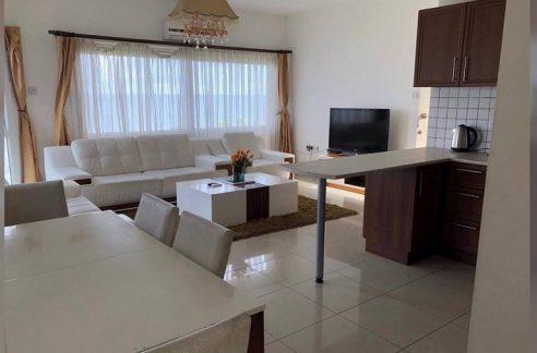 Sea Front 3 Bedroom Apartment For Rent Location Lapta Coastal Walkway (Lapta Yuruyus Yolu) Girne (Communal Swimming Pool) North Cyprus (KKTC)