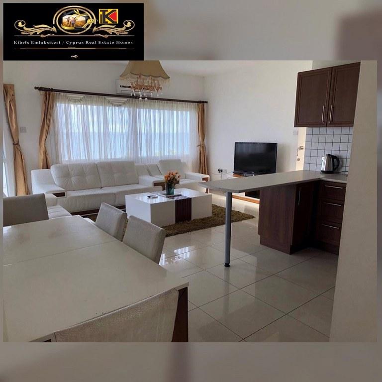 Sea Front 3 Bedroom Apartment For Rent Location Lapta Coastal Walkway (Lapta Yuruyus Yolu) Girne (Communal Swimming Pool)