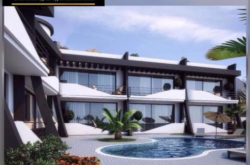 Sea Front 1 Bedroom Apartment For Rent Location Lapta Coastal Walkway (Lapta Yuruyus Yolu) Girne (Communal Swimming Pool) North Cyprus KKTC TRNC