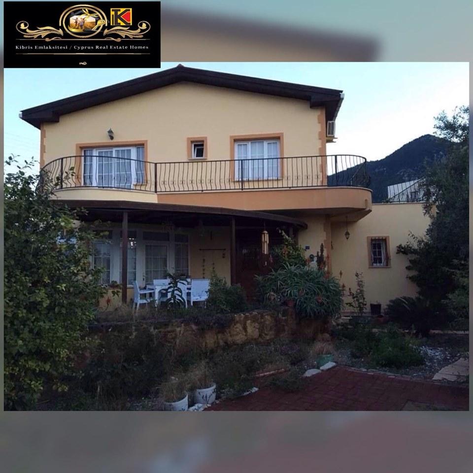 Nice 4 Bedroom Villa For Rent Location Lapta Girne (Communal Swimming Pool)