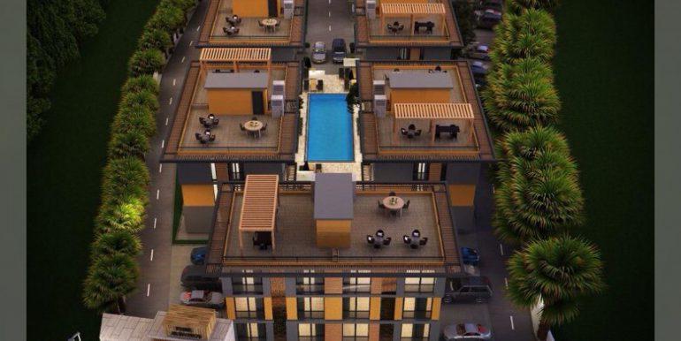 Nice 2 Bedroom Apartment For Sale Location Behind Atakara Market Alsancak Girne North Cyprus (KKTC)