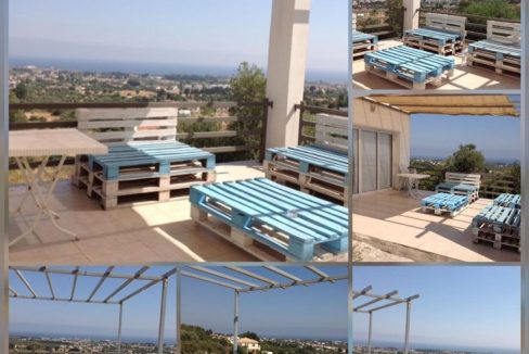 2 Bedroom Twin Villa For Rent Location Karsiyaka Girne(Beautiful Sea And Mountain Panoramic) North Cyprus (KKTC)