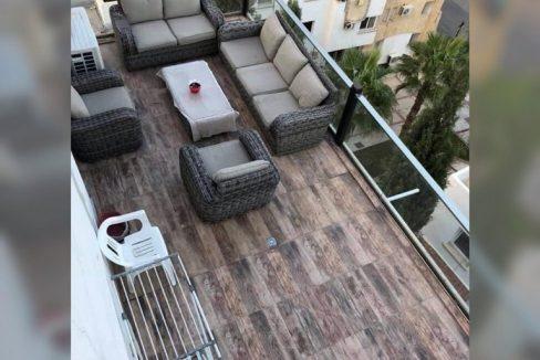 Adorable 2 Bedroom Penthouse For Rent Location Behind Nusmar Market Patara City Girne North Cyprus (KKTC)