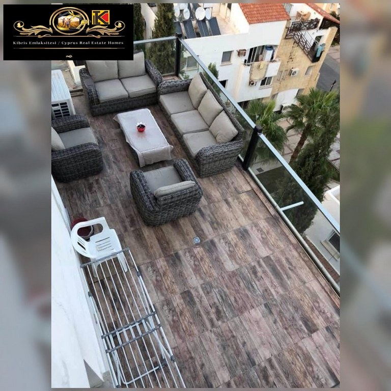 Adorable 2 Bedroom Penthouse For Rent Location Behind Nusmar Market Patara City Girne