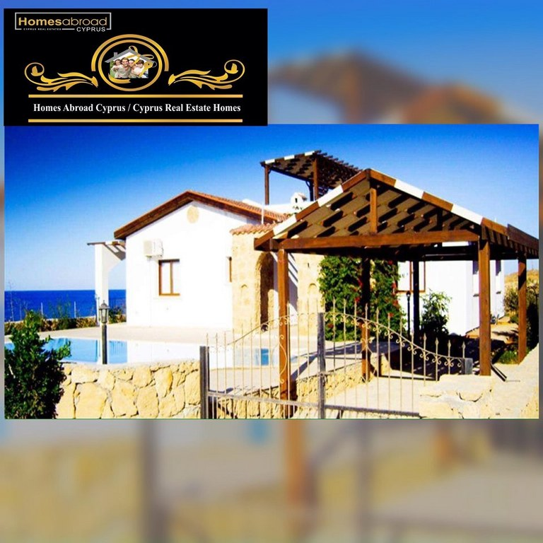 Magnificent 3 Bedroom Bungalow For Sale Location Esentepe Girne North Cyprus (Waterside) with breathtaking/panoramic views