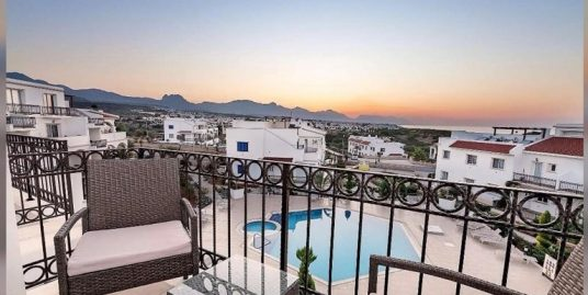 Nice 1 Bedroom Galleried For Sale Location Esentepe Girne North Cyprus (Sea Magic Park)