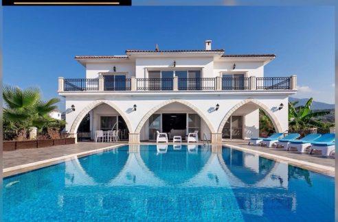 Luxury 5-bedroom Seaside Villa For Sale Location Esentepe, Girne, North Cyprus KKTC
