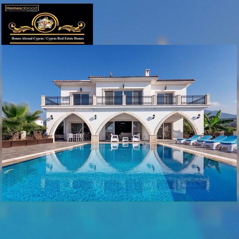 Luxury 5-bedroom Seaside Villa For Sale Location Esentepe, Girne, North Cyprus (Sea Magic Park)