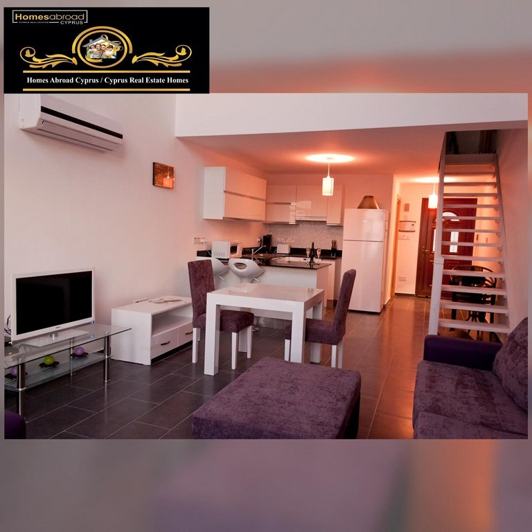 Nice 1 Bedroom Townhouses For Sale Location Bahceli Girne North Cyprus (Residence)