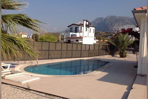 3 Bedroom Villa For Rent Location Alsancak Girne North Cyprus (KKTC)