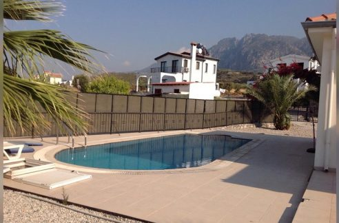 3 Bedroom Villa For Rent Location Alsancak Girne North Cyprus (KKTC)