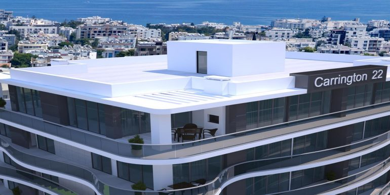 Remarkable Luxurious 1 And 2 Bedroom Apartment For Sale Location Girne North Cyprus (Carrington 22) KKTC