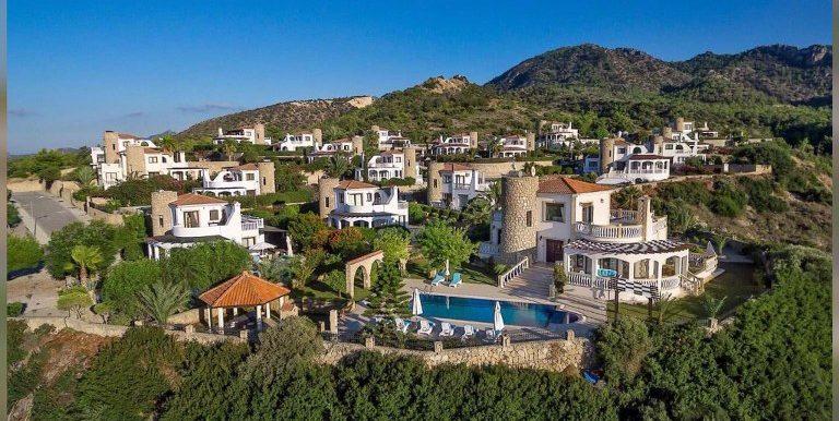 Sunset Valley 3 Bedroom Villa For Sale Location Bahceli Girne North Cyprus KKTC