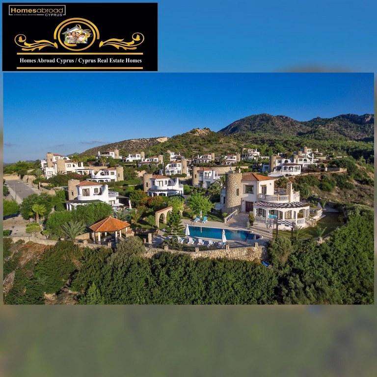 Sunset Valley 3 Bedroom Villa For Sale Location Sunset Valley Bahceli Girne North Cyprus