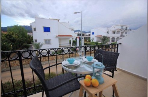 Beautiful Seafront 1 Bedroom Duplex Apartment For Sale Location Esentepe, Kyrenia, North Cyprus KKTC