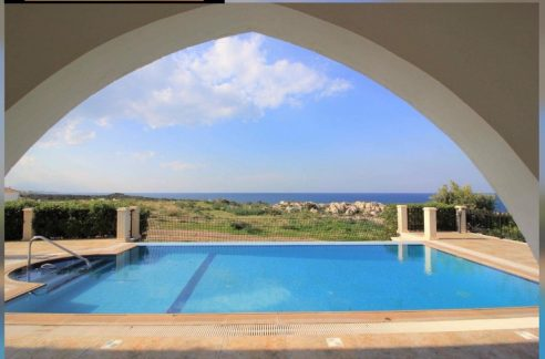 Nice Seafront $ Bedroom Villa For Sale Location Esentepe, Kyrenia, North Cyprus KKTC