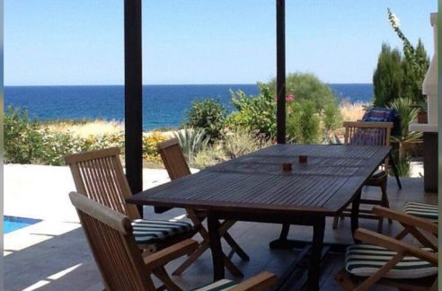Nice 3 Bedroom Seafront Villa For Sale Location Esentepe, Kyrenia, North Cyprus KKTC