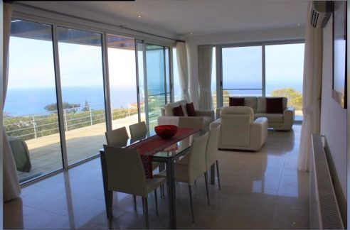 Desirable 3 Bedroom Villa With Breathtaking Panoramic Views Location Esentepe, Kyrenia North Cyprus KKTC