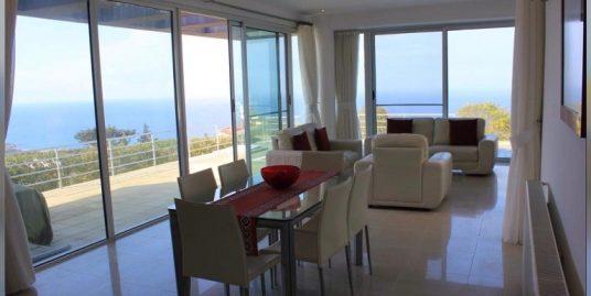 Desirable 3 Bedroom Villa With Breathtaking Panoramic Sea And Mountains Views Location Esentepe, Kyrenia