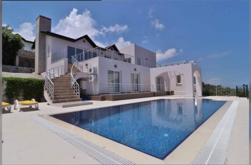 Beachfront 3 Bedroom Villa For Sale Location Tuay Villa Karaağaç Kyrenia (an open and bright space) North Cyprus KKTC