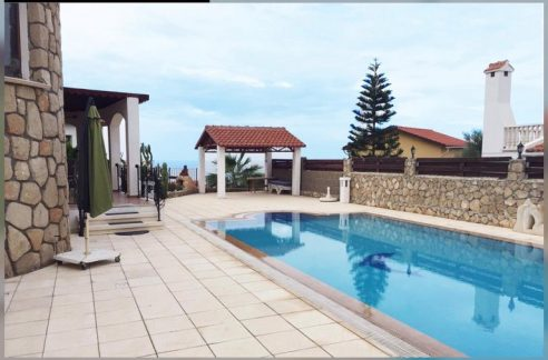 Sea Front, Exotic, 3 Bedroom Villa Rosa For Sale Location Morlais Bahçeli Kyrenia North Cyprus KKTC (feels like home)
