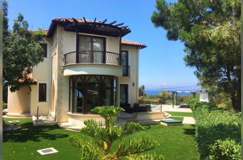 Aesthetically Pleasing 3 Bedroom Villa For Sale Location Lanterns Villa Bahçeli Kyrenia North Cyprus KKTC (Beautifull Sea and Mountains Views)