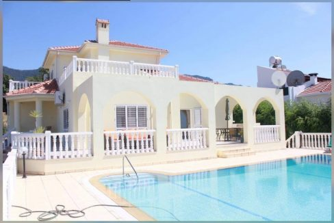 Pastoral 3 Bedroom Villa For Sale Location Esentepe Village North Cyprus KKTC (Beautiful Sea And View)