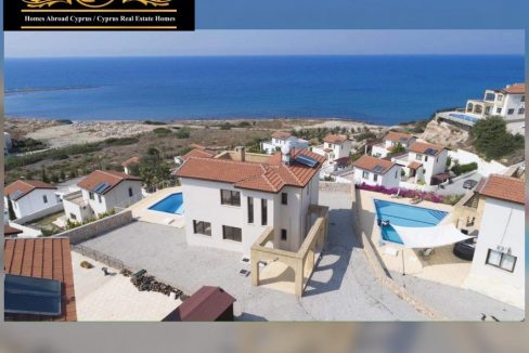 Newly Refurbished 4-Bedroom Villa For Sale Location New Harbor Bahceli Kyrenia North Cyprus KKTC (Beautiful Sea And Mountains View)