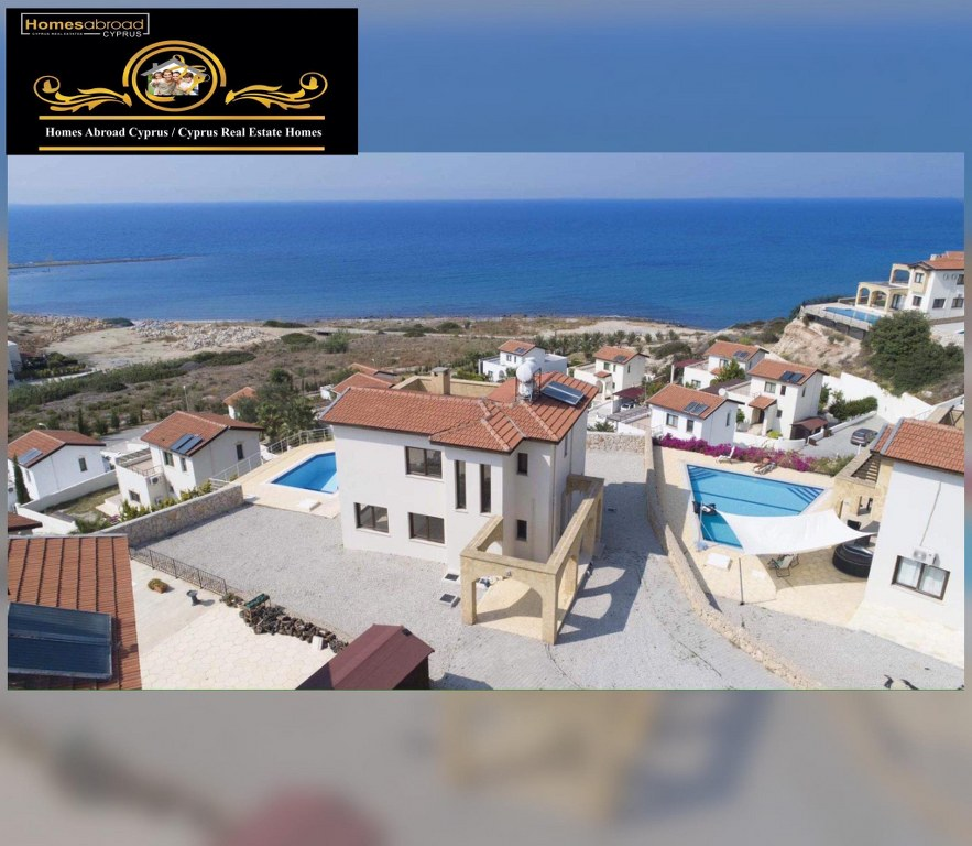 Newly Refurbished 4-Bedroom Villa For Sale Location New Harbor Bahceli Kyrenia (Beautiful Sea And Mountains View)