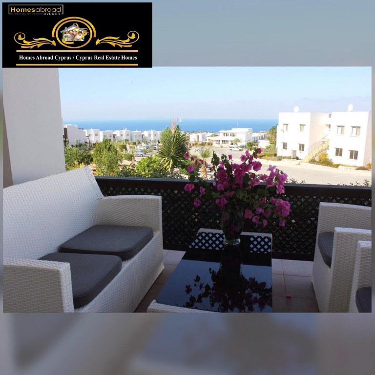 Charming 2 Bedroom Garden Apartment For Sale Location Sea Terra Reserve Tatlısu Kyrenia