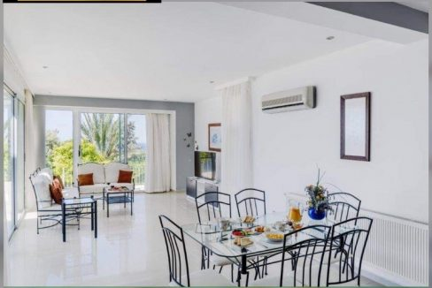 Cute 3 Bedroom Villa For Sale Location Esentepe Kyrenia North Cyprus KKTC (Beautiful Panoramic Sea And Mountains Views)