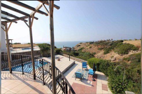 Superb Refurbished Seafront 3-bedroom Villa For Sale Location Sweet Homes Villas Küçük Erenköy Kyrenia North Cyprus KKTC