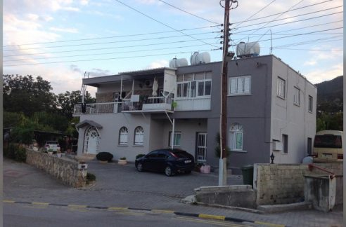 Whole Apartment House For Sale With A Great Location Just on main road next to bread factory (Ekmek Firin) Lapta Girne North Cyprus KKTC